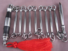 Kung Fu China Train Stainless Steel Nine-section Whip WuShu Practice Equipment B