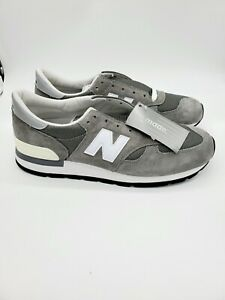 New Balance M990GRY 30th Anniversary Shoes Made in the U.S.A Size 13 Gray NEW