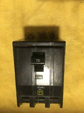 New Pullout Square D Qob370Vh 3P 70A 22Ka Bolt On Circuit Breaker