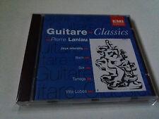 "PIERRE LANIAU ""GUITARE CLASSICS"" CD 19 TRACKS JEUX INTERDITS BACH SOR TARREGA"