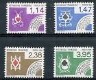 STAMP / TIMBRE FRANCE NEUF PREOBLITERE SERIE N° 182/185 ** CARTES A JOUER