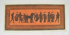 HAMILTON Collection of Etruscan Greek Roman Antiquities / Copper Plate Engraving