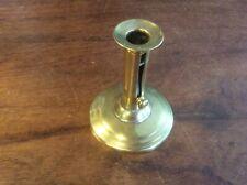 New listing Georgian Brass Push Up Candlestick, C1800