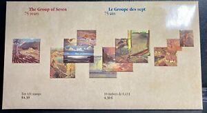 "CANADA Stamps Souvenir Sheets # 1559, 1560, 1561 ""Group of Seven"" CV$ 15.00"