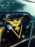 """2.5/"""" Phone Decal Pokemon Go Team Instinct samsung iphone Yellow Zapdos Sticker"""