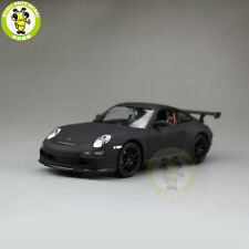 1/24 Porsche 911 997 GT3 RS Welly 22495 Diecast Model Racing Car Matte Black