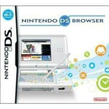 Nintendo DS Nintendo Internet Browser Used Complete