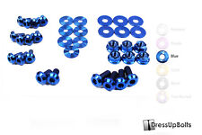 Dress Up Bolts for 05-09 Subaru Legacy & GT Blue Ti Titanium Engine Bay Kit