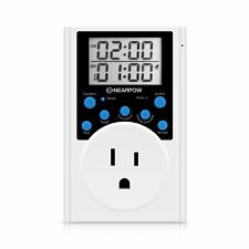 Timer Outlet, Nearpow Multifunctional Infinite Cycle Programmable Plug-in