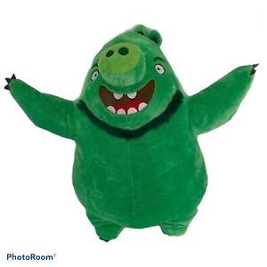 "Angry Birds Movie Green 22"", ""Leonard Mudbeard"" Plush Stuffed Animal"