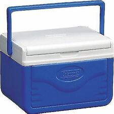 Coleman FlipLid 6 Personal Cooler Reversible Lid 9hrs Cooling Safety Lock 4.7l