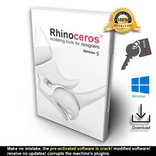 Rhino 3D MODELING V5 ⭐ Key ⭐ Full Commercial License - Rhino 3D R50