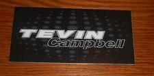 Tevin Campbell Sticker Rectangle Promo 6x3