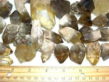 """Citrine crystal Congo,Africa 3/4 pound lot 4 to 12 crystals per winner 1"""" to 4"""""""