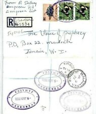 CS23 Jamaica Superb *Evergreen* TRD Registered 1970 Cover {samwells-covers}