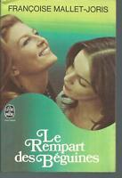 Le rempart des beguines.Françoise MALLET-JORIS.Livre de poche  M005