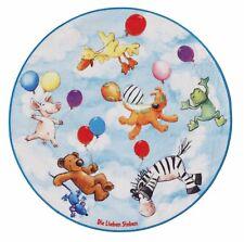 Teppich Die Lieben Sieben Kinder Kinderzimmer LS-203 / 100cm rund / 62,42 EUR/qm