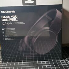 Skullcandy Crusher Wireless Immersive Bass Over Ear Headphones (Black) (Sealed)