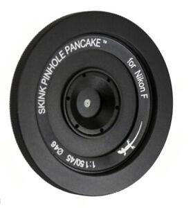 Skink Pinhole Pancake Retro Starter Kit modular Nikon D6 D3500 D850 D7500 D5600