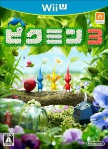 Pikmin 3 Wii U Japan Version