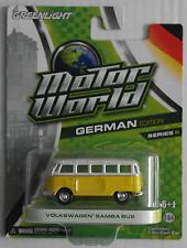 """GreenLight-VW t1 samba-bus amarillo/blanco """"German Edition"""" nuevo/en el embalaje original"""