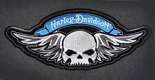 HARLEY DAVIDSON WINGED SKULL RETRO PATCH