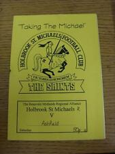 1996/1997 HOLBROOK ST Michaels riserve V Ashfield (Rusty GRAFFETTE)