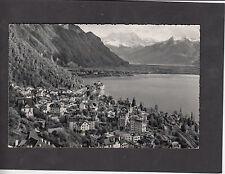 Postcard- View of Montreux Switzerland C. 1960's