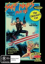 Surf Nazis Must Die (DVD, 2010) + Extras * Troma * * Priced to Clear *