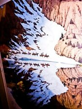 Art Bev Doolittle Season of the Eagle pencil signed LE 9202/36548 matted & frame