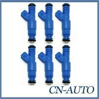 6X Fuel Injectors For Ford Falcon Fairlaine LTD BA BF XR6 Territory SX SY 4.0L