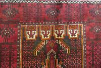 Authentic  Wool RNRN-148 3'3'' x 5'9'' Persian Balooch Rug