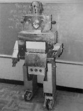 MR. SHAMSHI clipping Rabbi Zalman Kolko robot B&W photo Jewish educational 1982