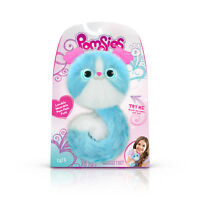 Pomsies Pet Interactive Plush Puppy, Lulu (BLUE) 50 Sounds/Reactions! IN HAND!