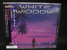 WHITE WIDDOW Silhouette + 1 JAPAN CD Tiger Tailz Aussie Melodious Hard Rock !