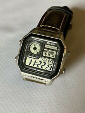 Men's Casio World Time Digital Watch in great condition