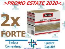 2 Confezioni Swisse Magnesio e Potassio FORTE 24+24 Bustine - PROMO Estate 2020