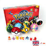 UK 8Pcs Pokeball&8Pcs Action Figures 2.8'' Pokeball Pokemon Christmas Toys Gift