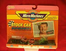 Stock Car Superstars Micro Machines Set - Bill Elliott Race Team Semi +