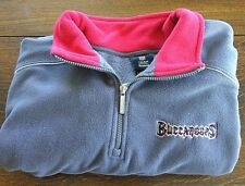 Reebok NFL Jacket Team Pullover Size 2XL Fleece Sweatshirt Zip Up Neck Fan Wear