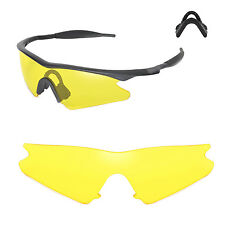 New Walleva Yellow Replacement Lenses For Oakley M Frame Sweep Sunglasses