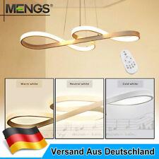 LED Dimmbar Deckenlampe 45W Hängeleuchte Pendelleuchte Kronleuchter Esszimmer DE