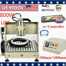 Usb 3040 4axis Cnc Router 800w Wood Milling Cutting Machineremote Controller