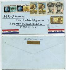50389 - USA - Beleg - New York 1971 nach Eisleben