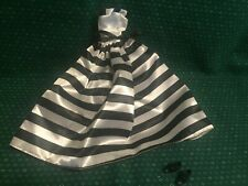 Vintage Barbie Black & White Ball Gown & Shoes
