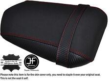 Agarre De Carbono Rojo Oscuro Puntada Personalizado Se Ajusta Yamaha 1000 YZF R1 04-06 Cubierta de Asiento Trasero