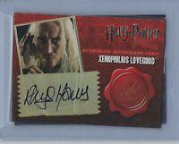 Harry Potter Deathly Hallows 1 Rhys Ifans Autograph Card Xenophilius Lovegood