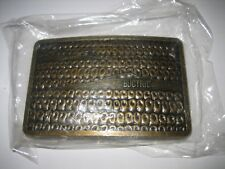 VINTAGE NEW Metal Belt Buckle Buctril Corn Herbicide Weed Spray Farming Farm