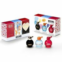 Moschino Miniature Collection 3-Piece Gift Set For Women Fragrance - Perfume New