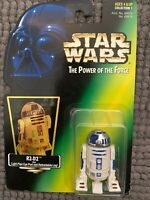 NEW 1997 Star Wars  The Power of the Force  R2-D2  Action Figure Hologram Card